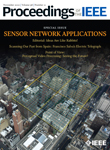 "The Special Issue on ""Sensor Network Applications"" of the Proceedings of the IEEE"