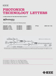 Photonics Technology Letters, IEEE