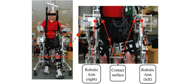 Design and validation of an over-ground gait rehabilitation system, NaTUre-gaits, that predicts individual-specific gait patterns for a more natural walking rhythm. Preliminary tests show that NaTUre-gaits provides reduction in manpower, successful task-specific repetitive training and natural walking gait patterns.