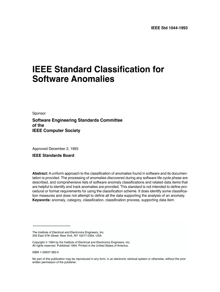 iee standards The ieee industry standards and technology organization (isto) was established in january 1999 as a global, not-for-profit corporation [501(c)(6)] designed to accelerate and extend standards development and adoption activities for technology industry consortia.