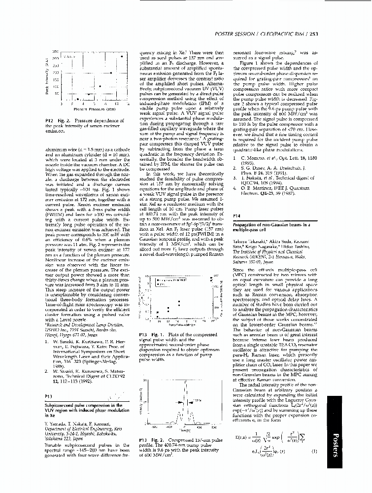 Propagation of non-Caussian beams in a multiple-pass cell - IEEE ...