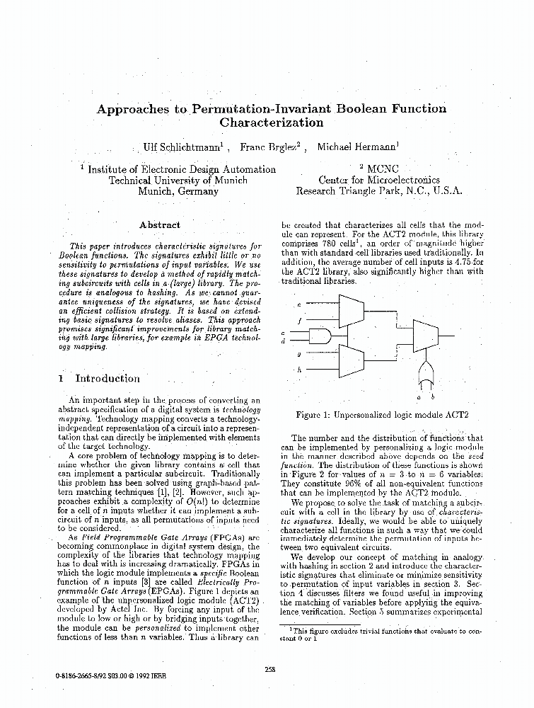 Approaches to Permutation-Invariant Boolean Function