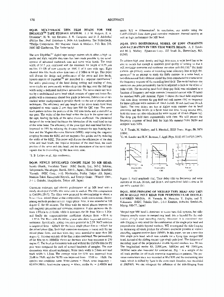 Two dimensional model of eddy currents and saturation in thin film