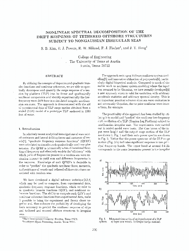 New Approaches in Spectral Decomposition