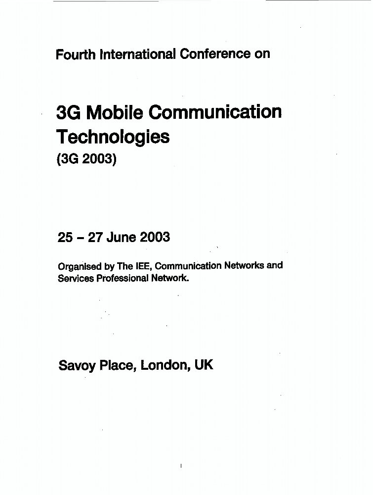 research paper 3g technology Wimax research paper 2014 wimax (3g) technology is widely used for wireless communication systems in many countries because it has rich set of features with.