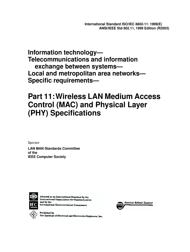 Technology Management Image: IEEE Standard For Information Technology
