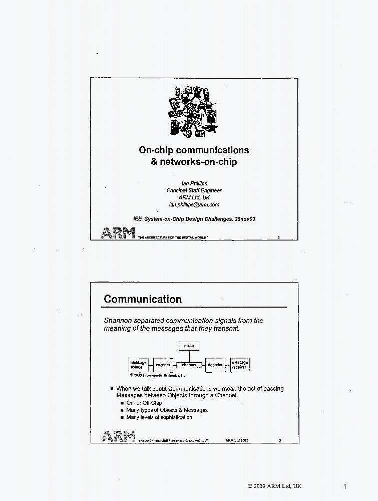 On Chip Communications Networks On Chip Iet Conference Publication