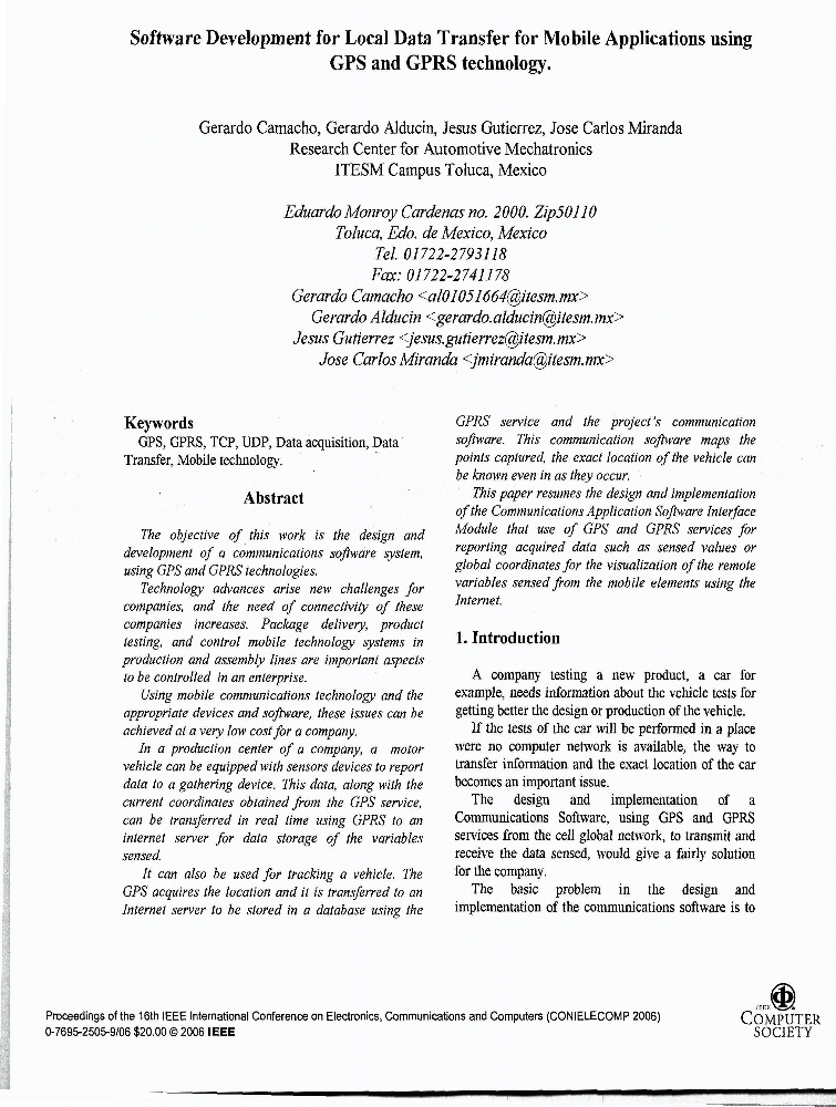 Research Papers / Articles / Books - Authored by MeitY Officials