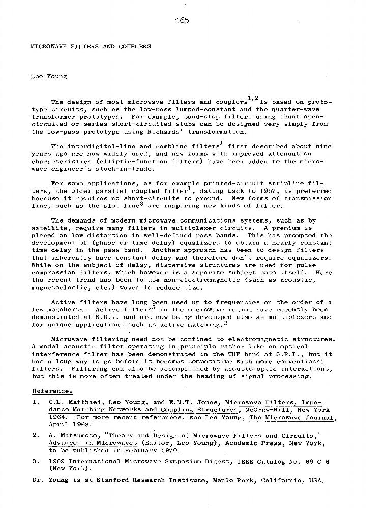 L  Young - IEEE Xplore Author Details